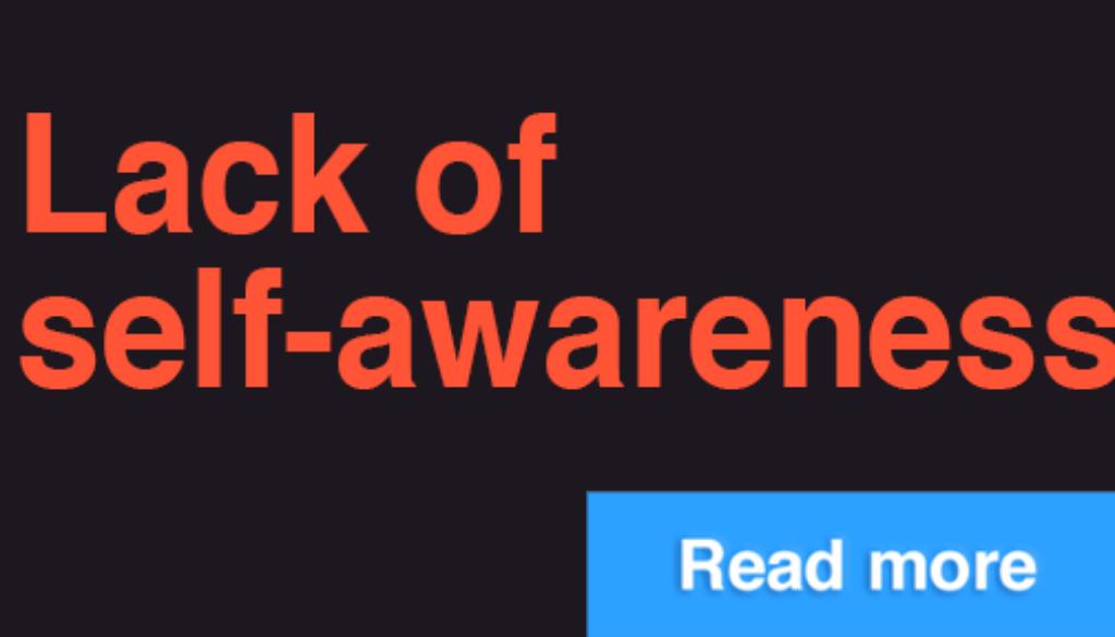 Lackofawareness